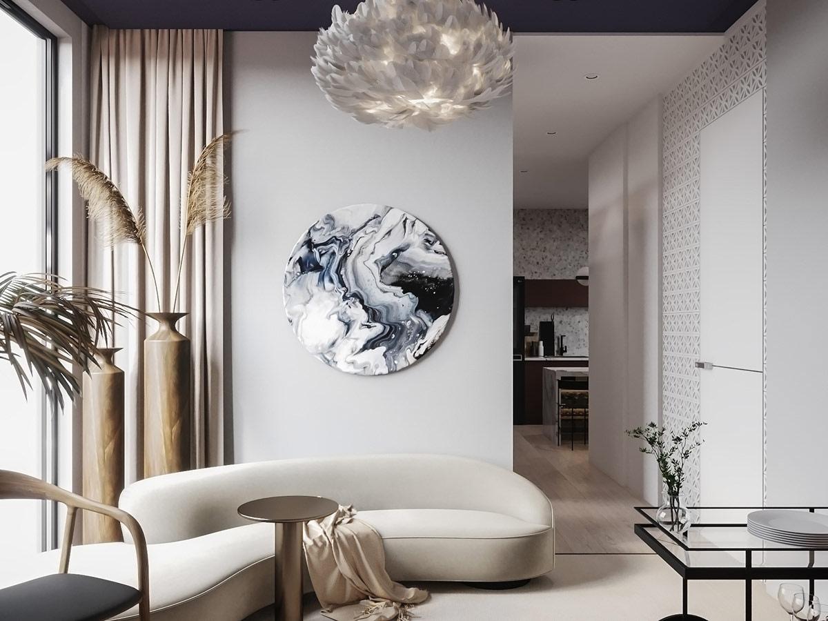 round-wall-art