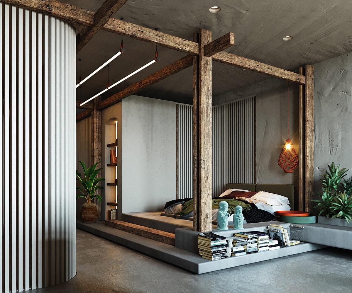 rustic-bed-design