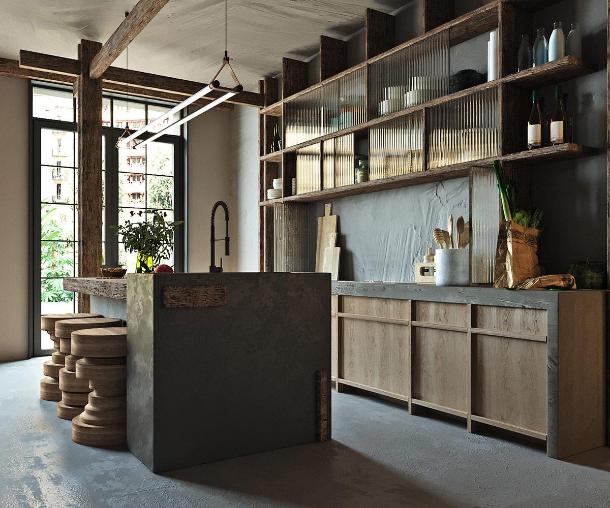 rustic-kitchen-design