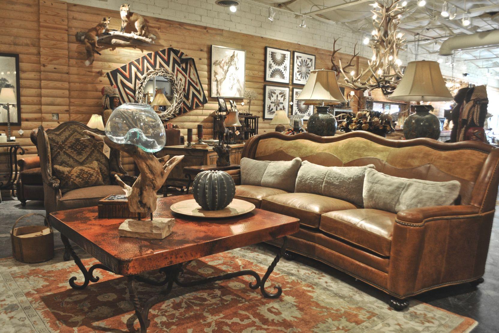 Rustic Living Room Furniture At Anteks Furniture In Dallas for Inspirational Rustic Living Room Furniture