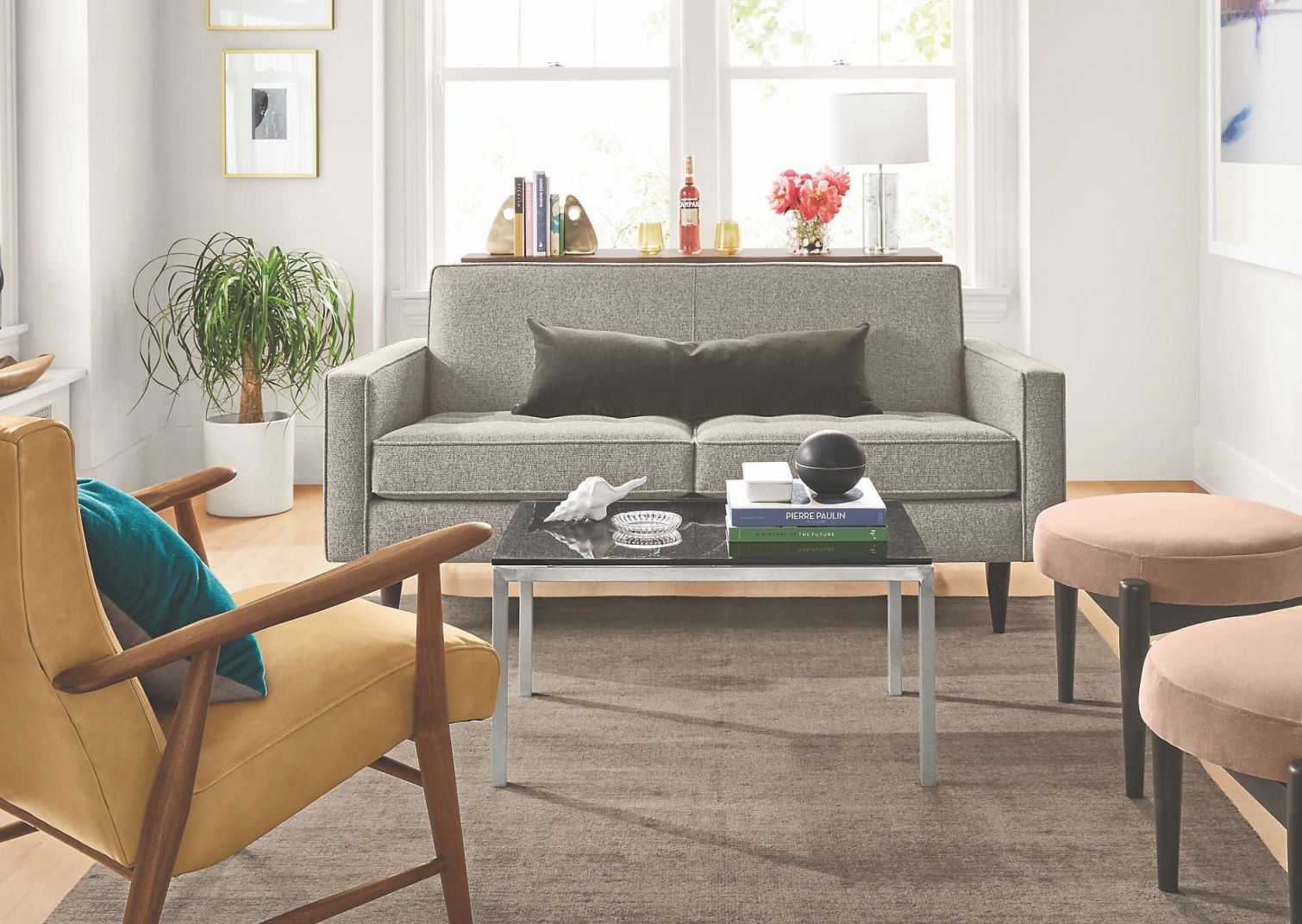 See Small Living Room Ideas From Room & Board Including with regard to Elegant Space Saving Living Room Furniture