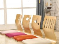Senarai Harga 4Pcs Lot Japanese Style Legless Chair Thick intended for Inspirational Japanese Living Room Furniture