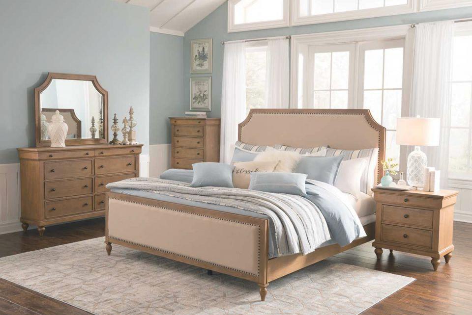 Shiloh 5 Piece Queen Bedroom Set regarding Beautiful Bedroom Set Queen