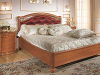 Siena Taffetas Euro Queen Size Bedroom Set W/platform, Walnut regarding Bedroom Set Queen Size