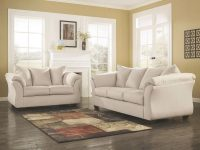 Signature Designashley Darcy 2-Piece Stone Fabric Living Room Set within Ashley Living Room Furniture Sets