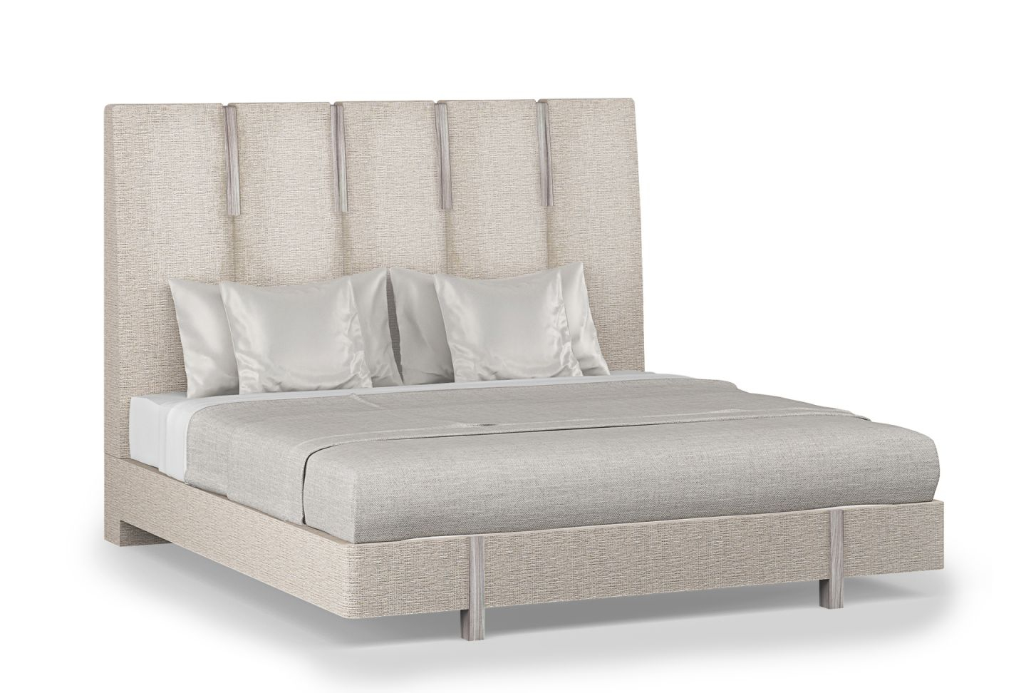 Signature Zarra King Bed within King Bed Frame With Headboard