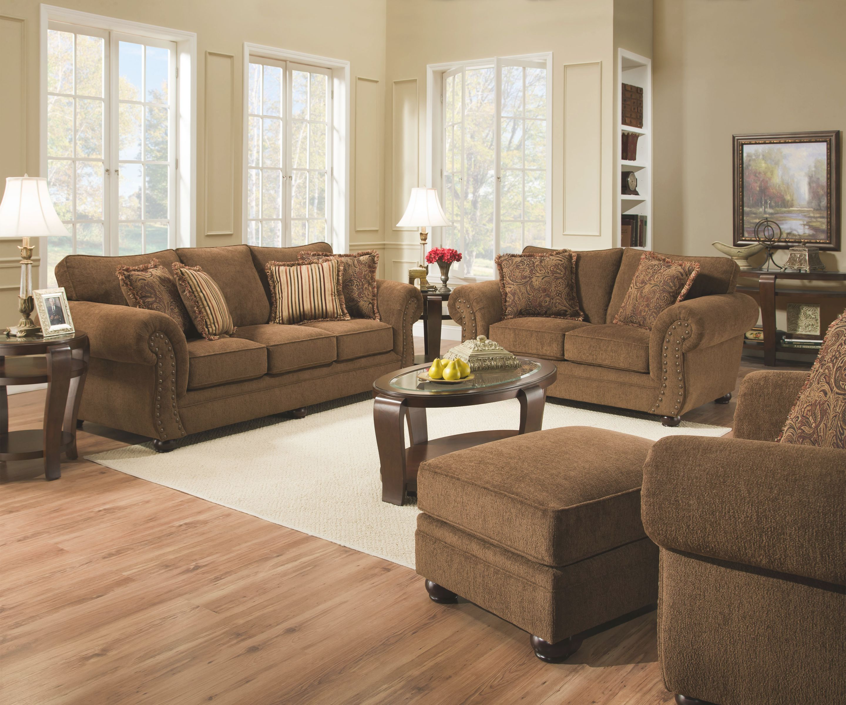 Simmons 4277 Sofa – Your Furniture 4 Less throughout New Simmons Living Room Furniture