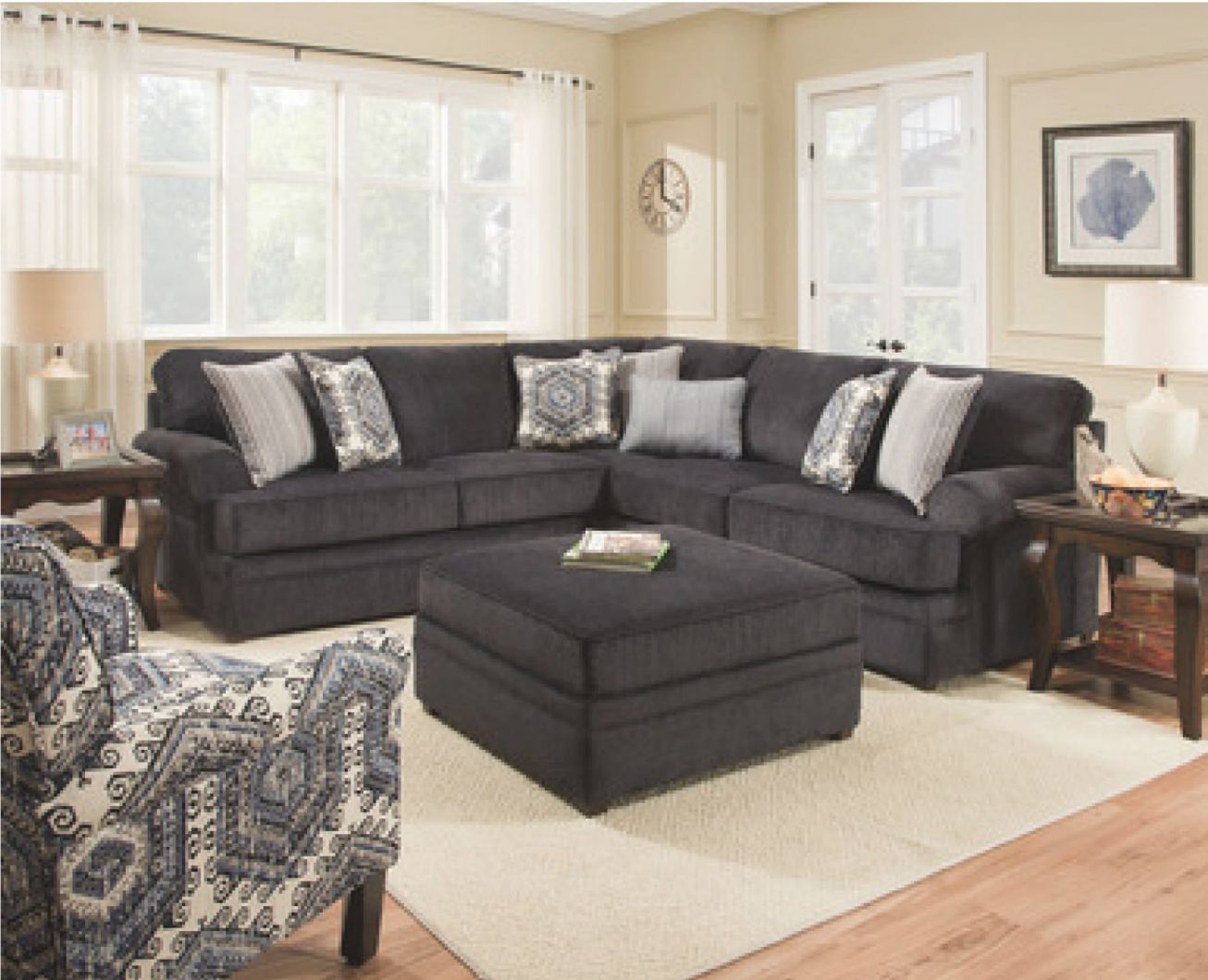 Simmons | Davis Home Furniture – Asheville, Canton within New Simmons Living Room Furniture