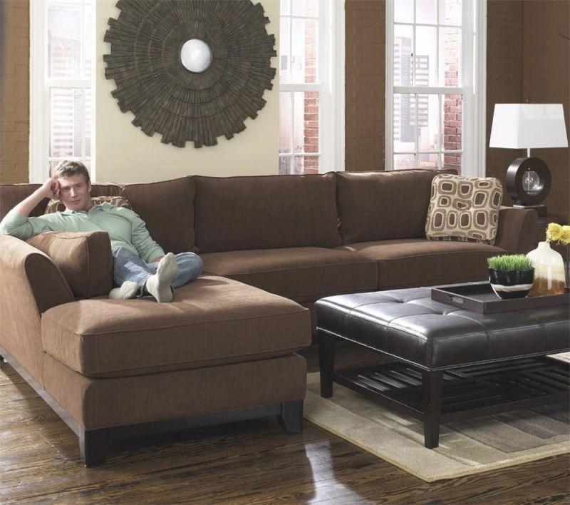 Sinclair Sectionnal   La Z Boy Furniture Galleries   Boys throughout Lazy Boy Living Room Furniture