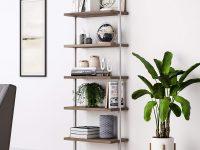 sleek-modern-wall-ladder-shelf-with-metal-frame-and-wood-shelves-mounts-to-wall