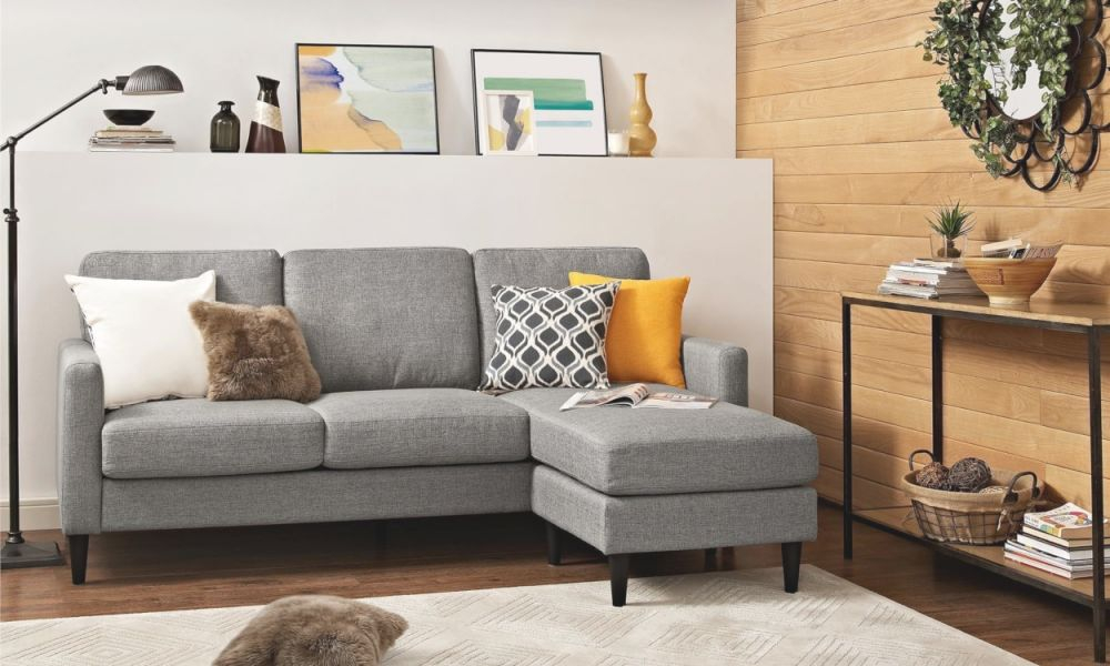 Lovely Grey Sectional Living Room Ideas - Awesome Decors