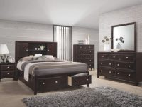 Solitude 5-Piece Queen Bedroom Set regarding Bedroom Set Queen