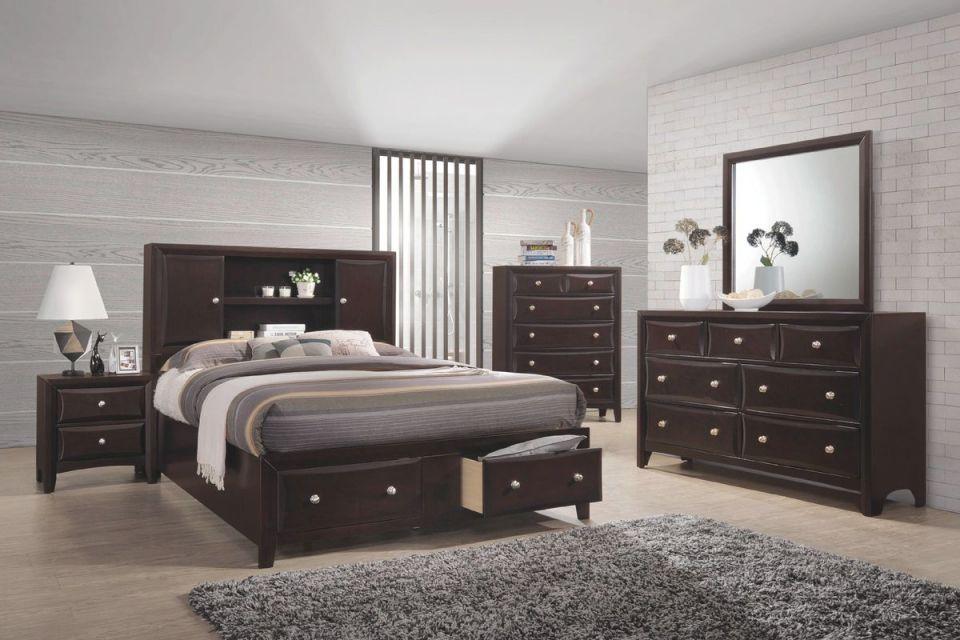 Solitude 5-Piece Queen Bedroom Set regarding Bedroom Set Queen