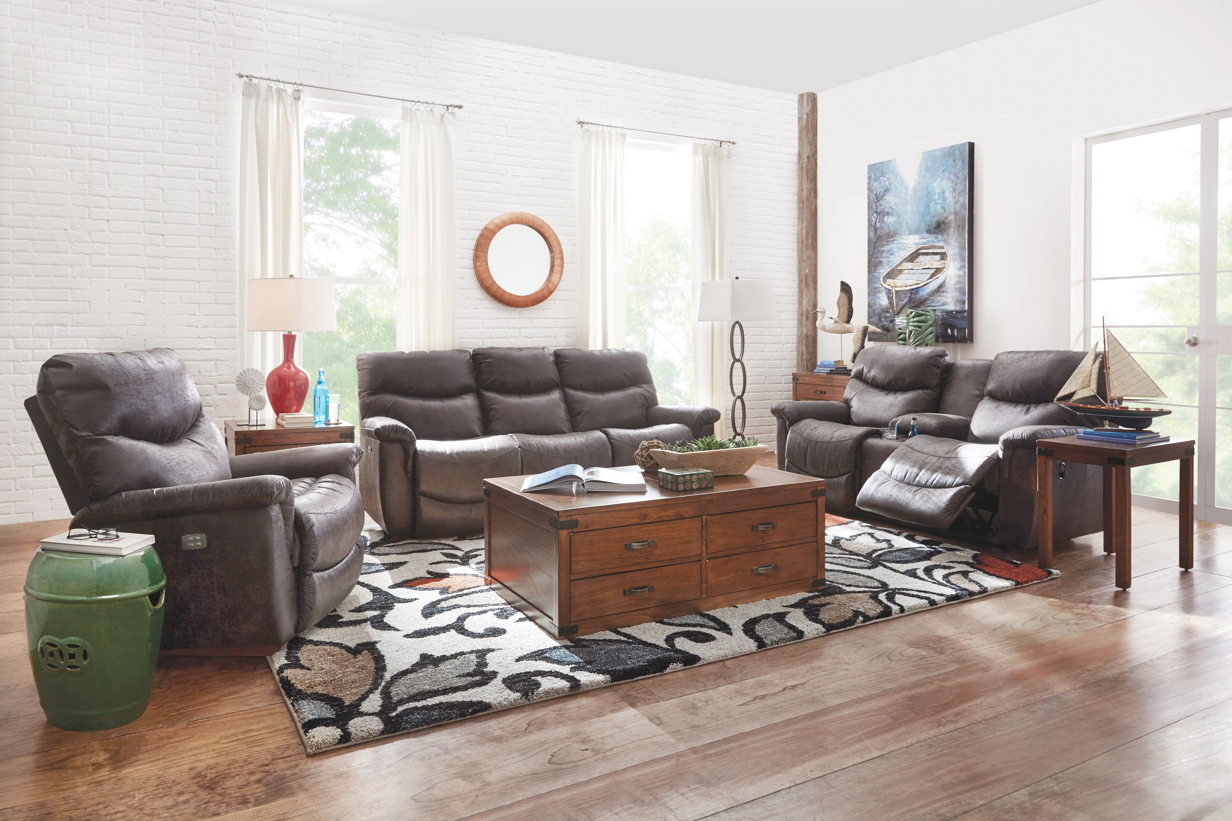 The La-Z-Boy James Collection   intended for New Lazy Boy Living Room Furniture