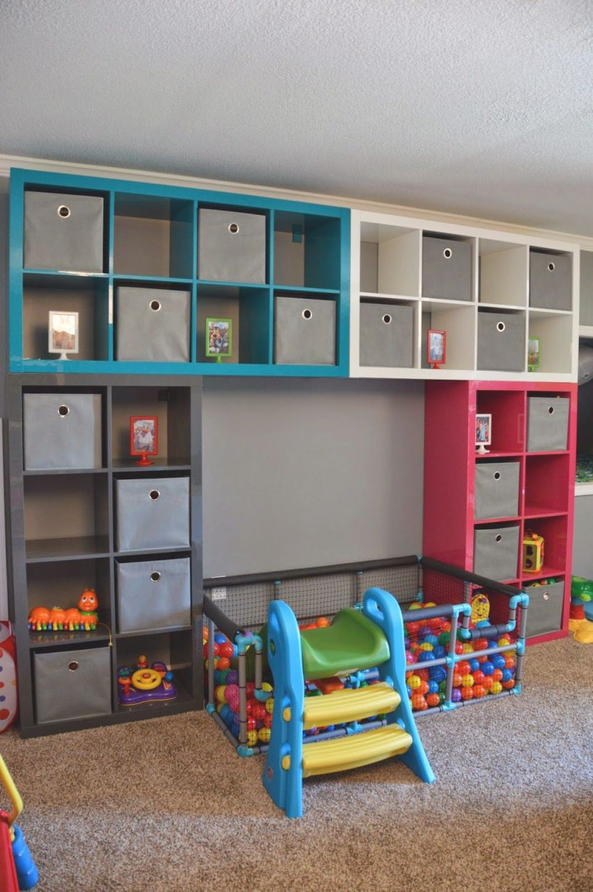 Tour Of Our Home ~ Playroom | Kids Room | Toy Rooms regarding Lovely Living Room Toy Storage Ideas