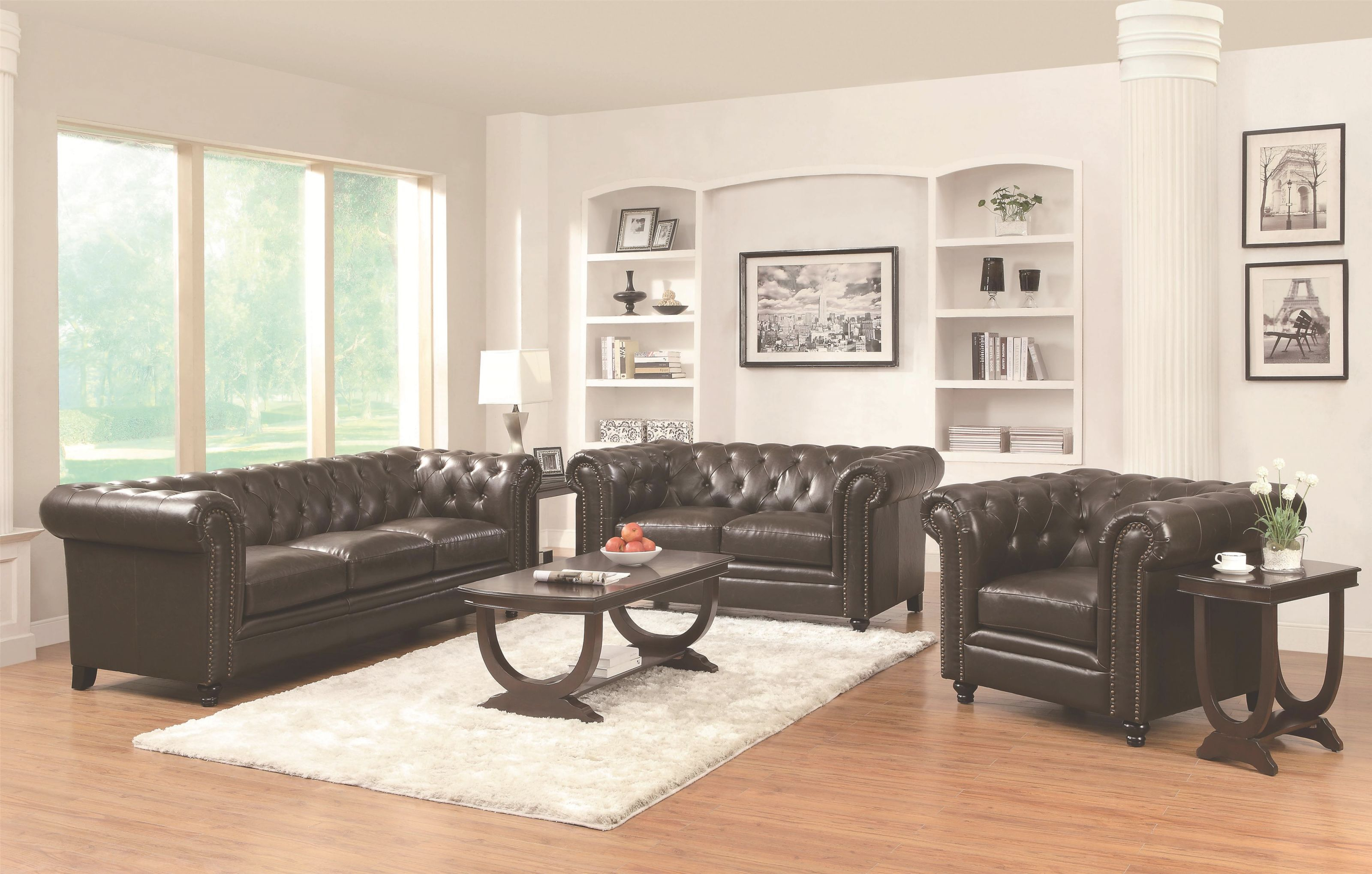 Traditional Living Room Set Co 504551 with regard to Traditional Living Room Furniture
