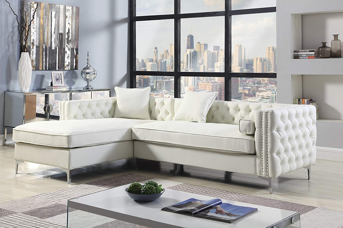 tufted-sofa-with-chaise-white-upholstery-multiple-colors-available