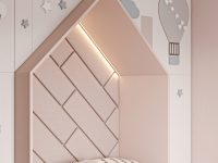 unique-kids-bed-ideas-house-shaped-nook-with-integrated-lighting-star-and-cloud-theme-design