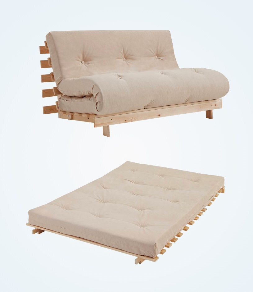 unique-modern-wood-futon-sleeper-with-double-mattress-sized-tufted-cushion