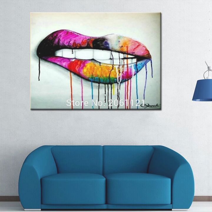 Us 19 98 20 Off Pop Art Idea Wall Canvas Painting Abstract