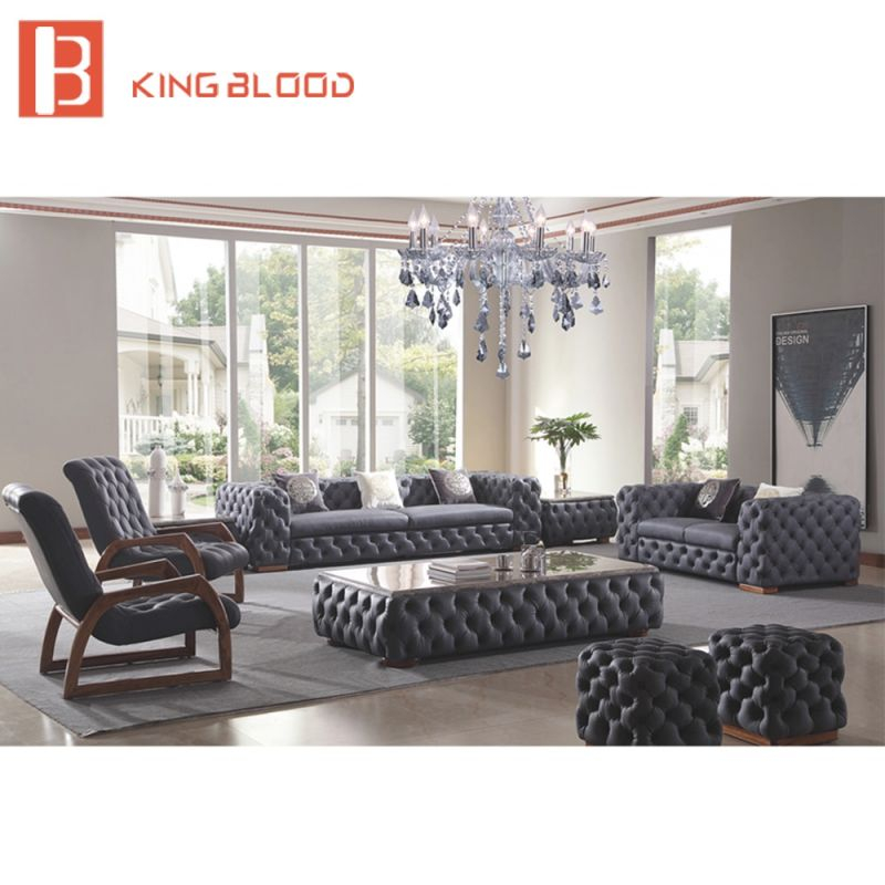 Us $5968.0 |Modern Italian Living Room Sofas Tufted Genuine Leather Sofa-In Living Room Chairs From Furniture On Aliexpress | Alibaba Group regarding Unique Tufted Living Room Furniture