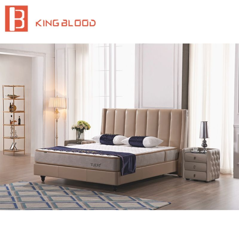 Us $684.0 |Newest Italian Style Queen Size Genuine Leather Bed For Bedroom Set-In Beds From Furniture On Aliexpress | Alibaba Group throughout Bedroom Set Queen Size