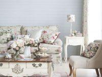 Vintage Floral Living Room Goodhomes Magazine September 2012 regarding Floral Living Room Furniture