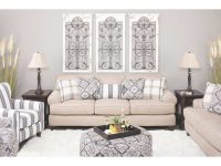 Whitaker Diamond Floral Accent Chair with Floral Living Room Furniture