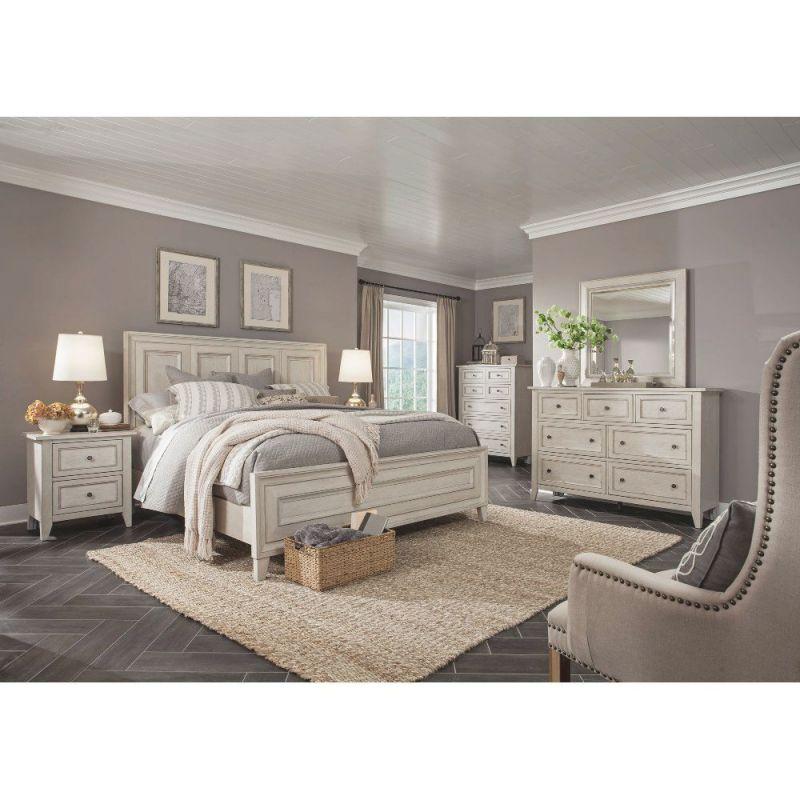 White 4 Piece California King Bedroom Set – Raelynn within Fresh Bedroom Set Ideas