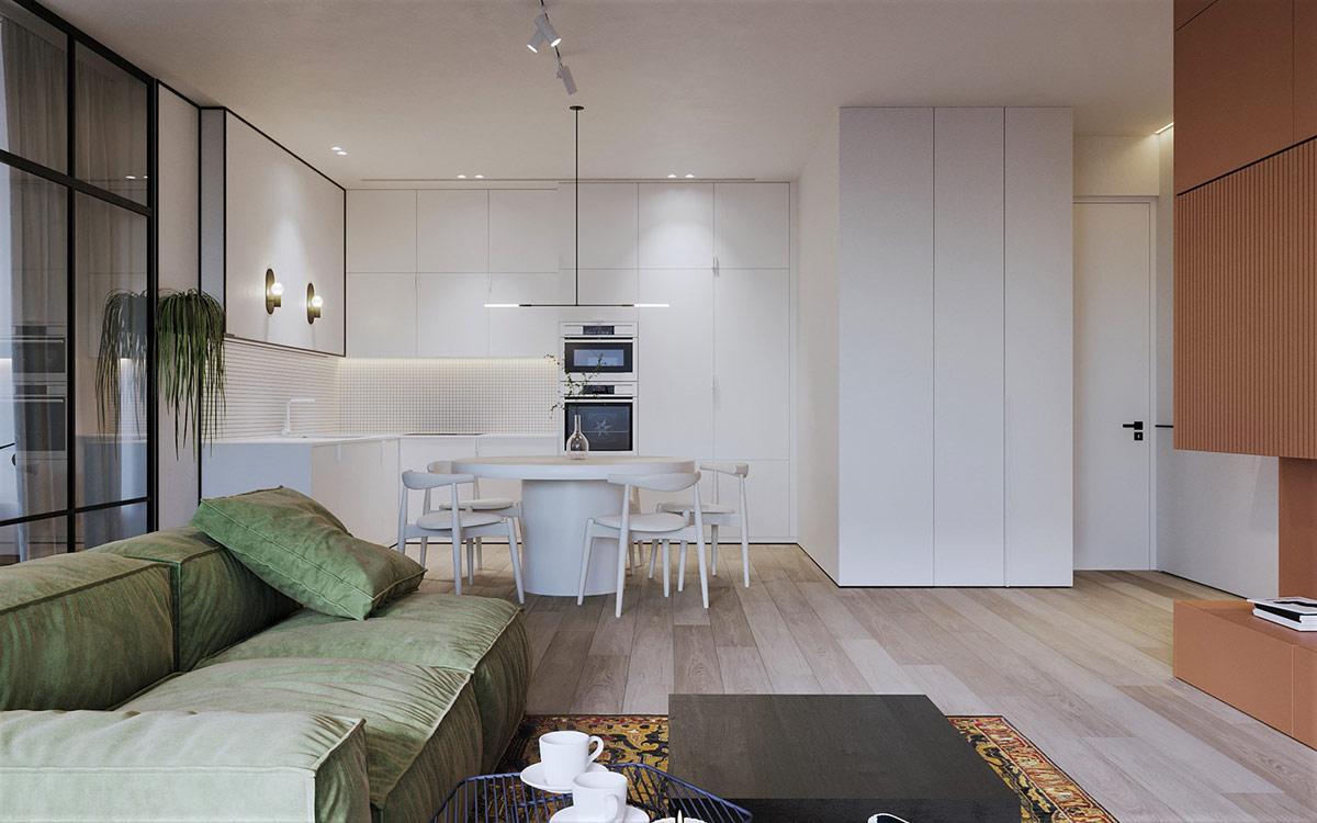 white-kitchen-diner