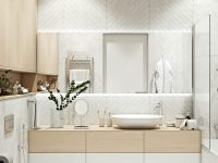 white-minimalist-modern-bathroom-with-chevron-wall-tiles