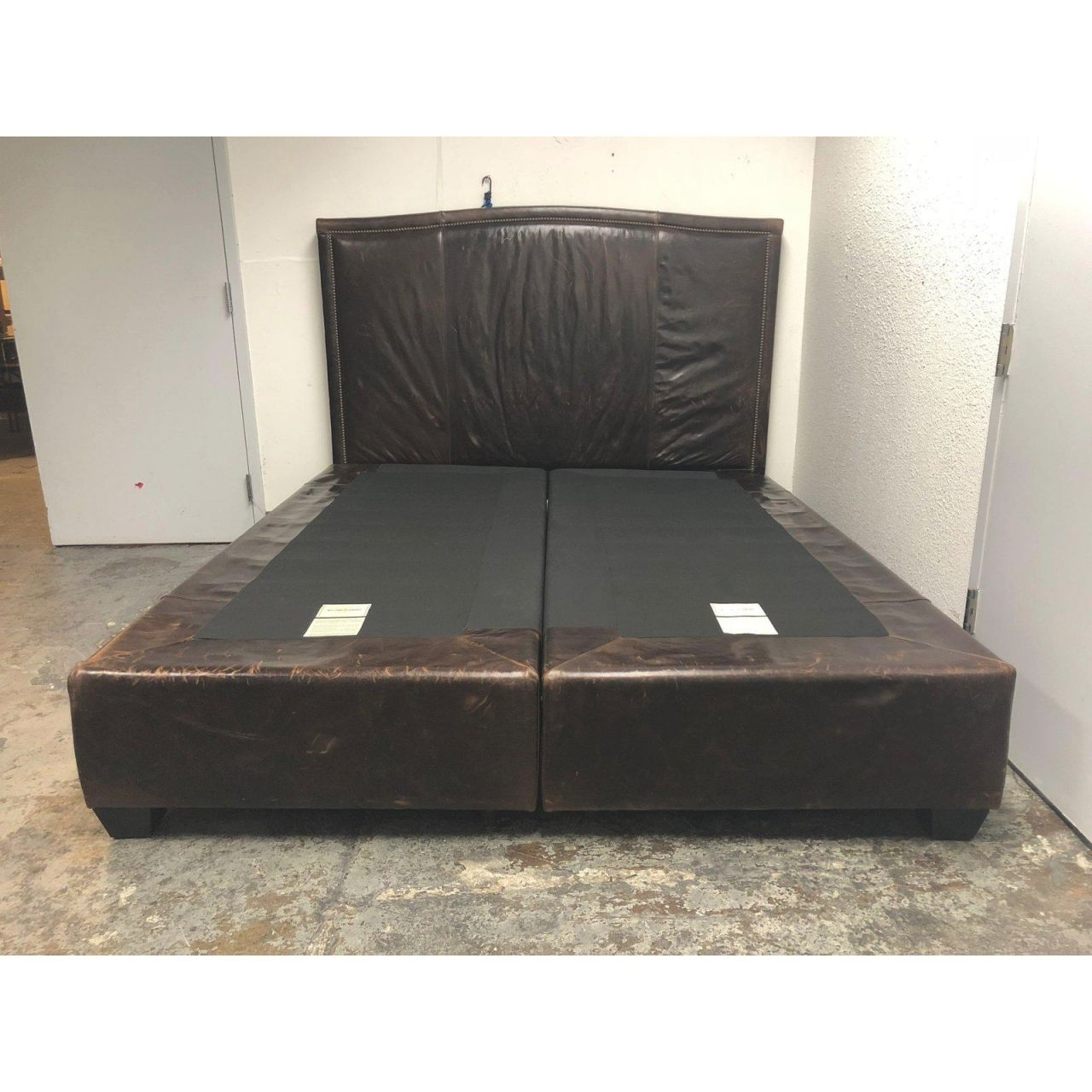 Williams Sonoma Home Sutton California King Bed And Headboard pertaining to King Bed Frame With Headboard