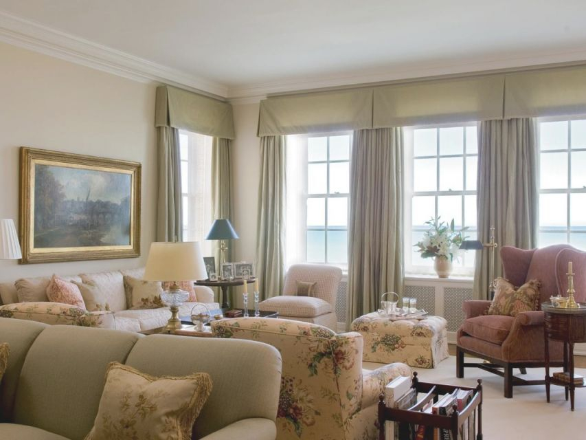 Window Treatments For Wide Windows — Little Pink Home Designs within Beautiful Window Treatment Ideas For Living Room