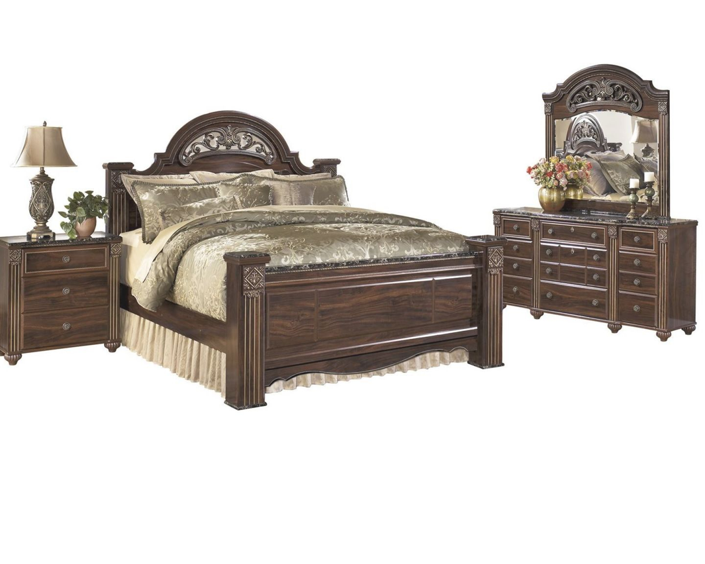 Winning Ashley Furniture Poster Bedroom Sets Design pertaining to Bedroom Set Ideas