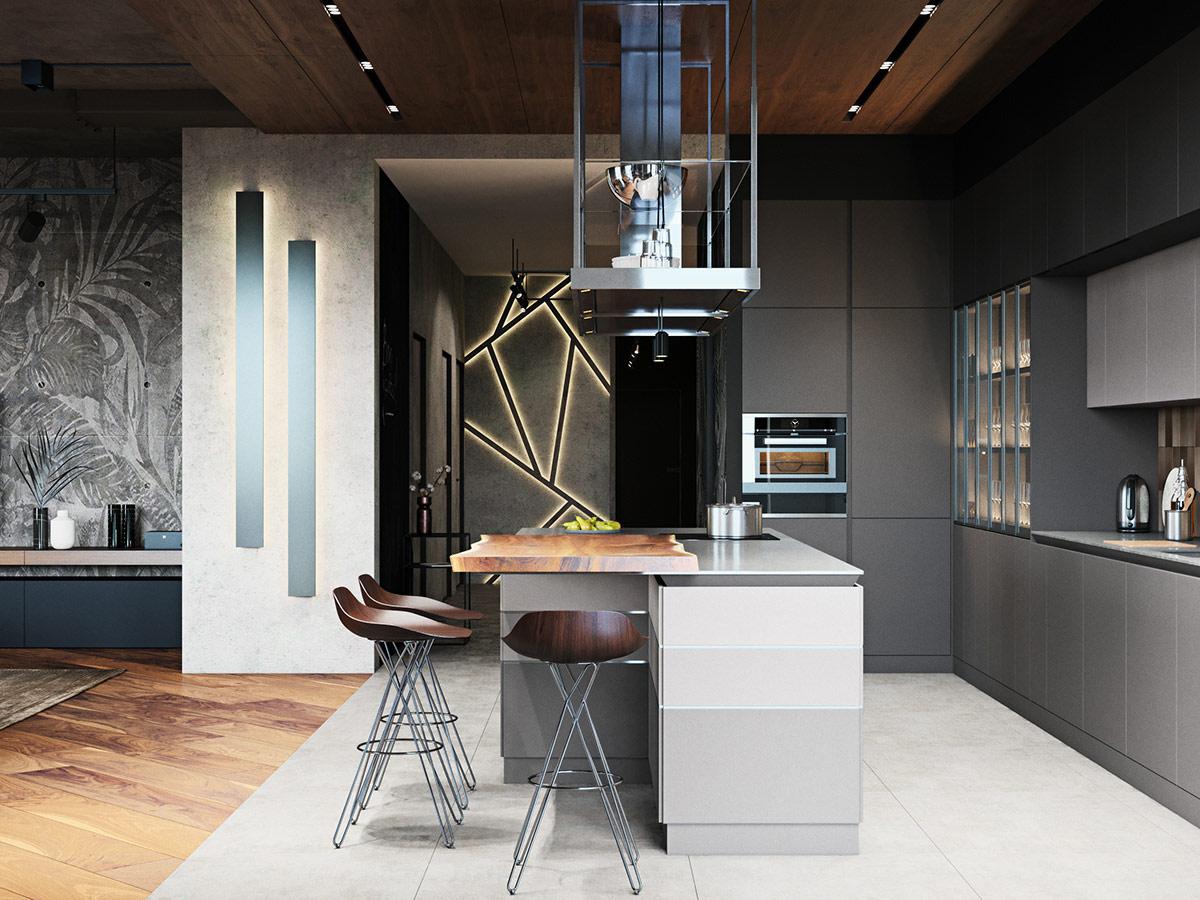 wood-and-metal-kitchen-bar-stools
