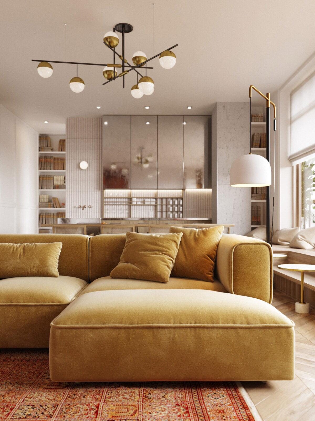 yellow-modern-sofa