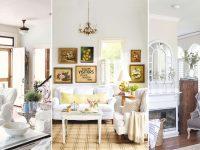 10 Shabby-Chic Living Room Ideas – Shabby Chic Decorating in Awesome Shabby Chic Living Room Furniture