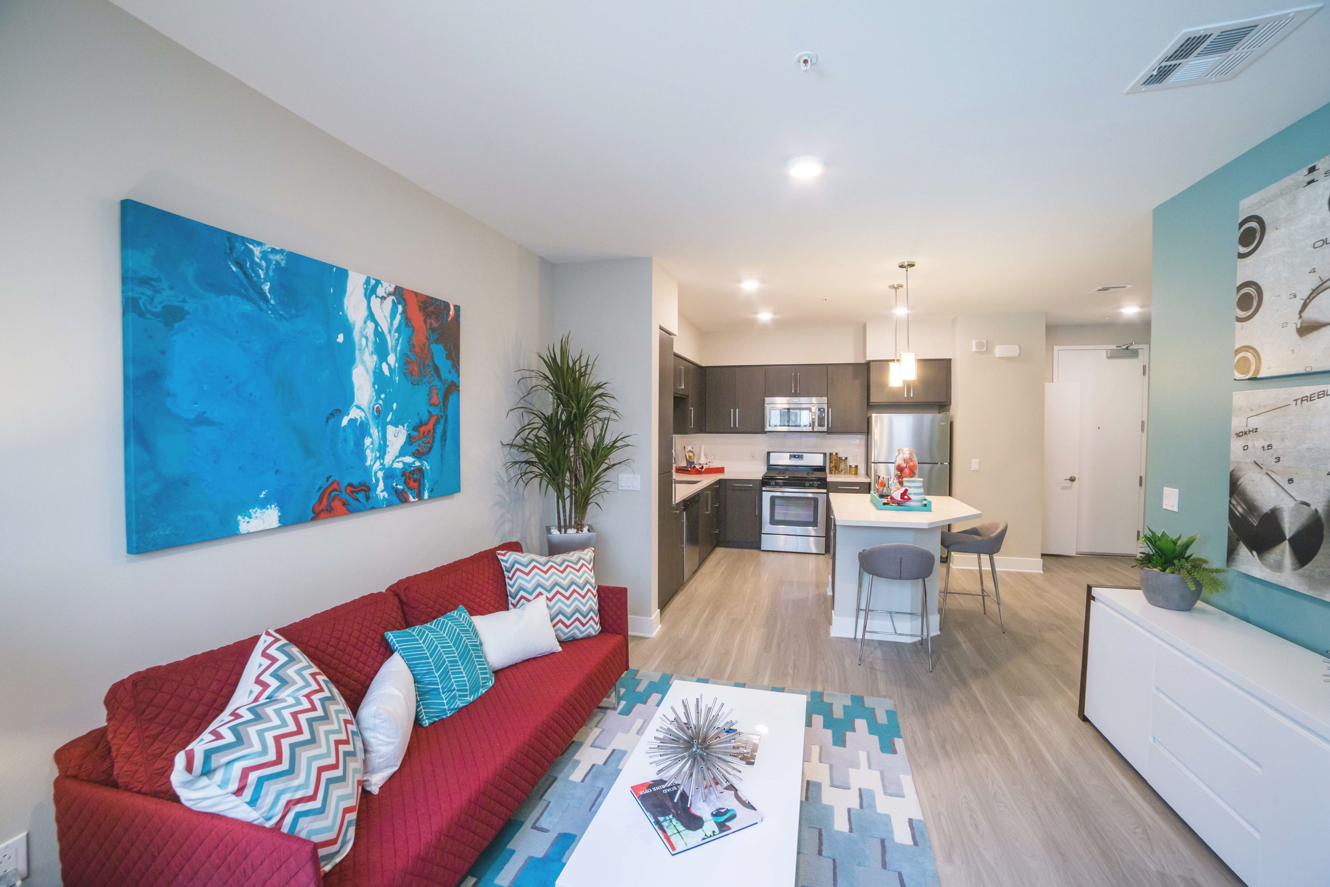 elegant one bedroom apartments in los angeles  awesome decors