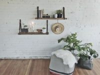 12 Ways To Decorate With Floating Shelves | Hgtv's pertaining to Unique Decorating Shelves In Living Room