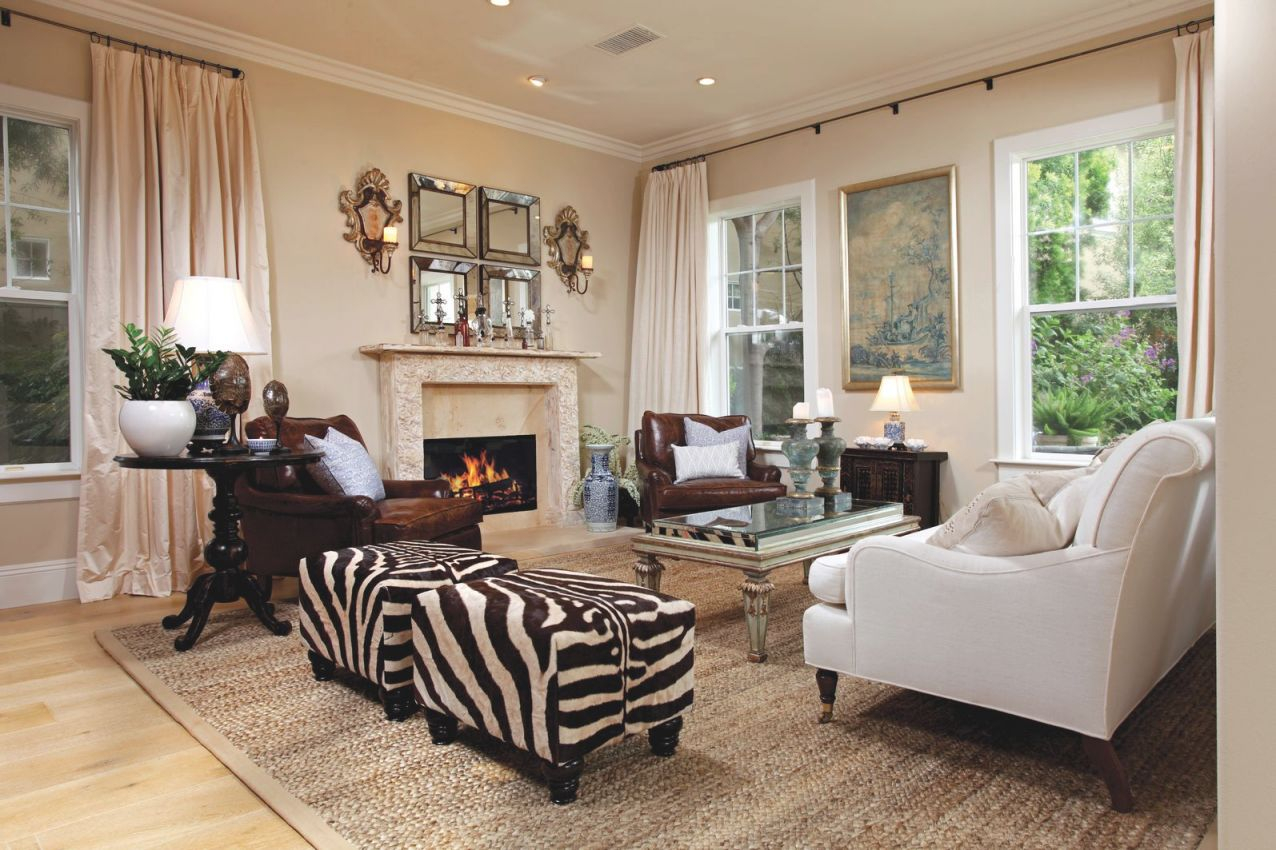 17 Inspirational Ways To Decorate Your Home With Zebra Print with regard to Unique Animal Print Living Room Decor