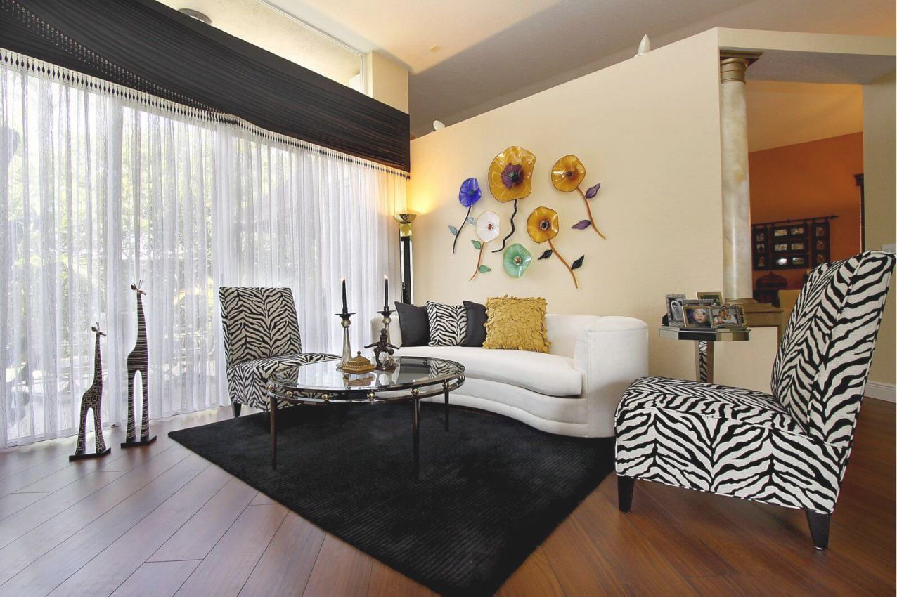 17 Zebra Living Room Decor Ideas (Pictures) for Unique Animal Print Living Room Decor