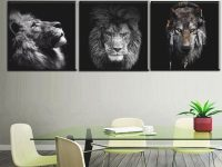 2019 Black White Canvas Painting Modern Wall Decor Art Lion Animal Pictures Oil Art Painting For Livingroom Bedroom Wall Art From Cyon2017, &price; | with New Modern Wall Decor For Living Room