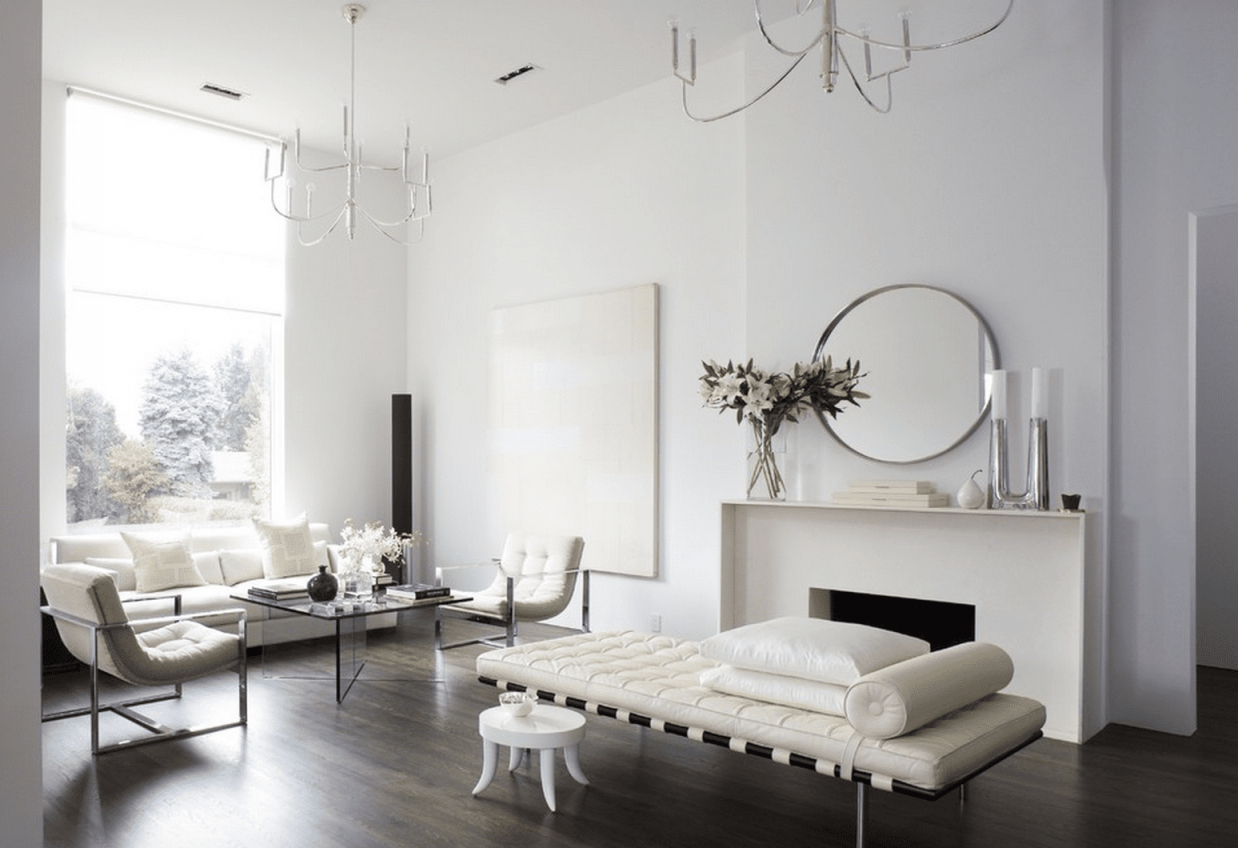 21 Modern Living Room Design Ideas throughout Elegant Monochrome Living Room Decorating Ideas