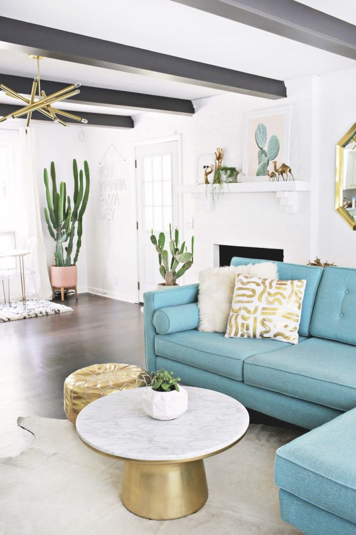 23 Colorful Sofas To Break The Monotony In Your Living Room intended for Elegant Turquoise Living Room Furniture
