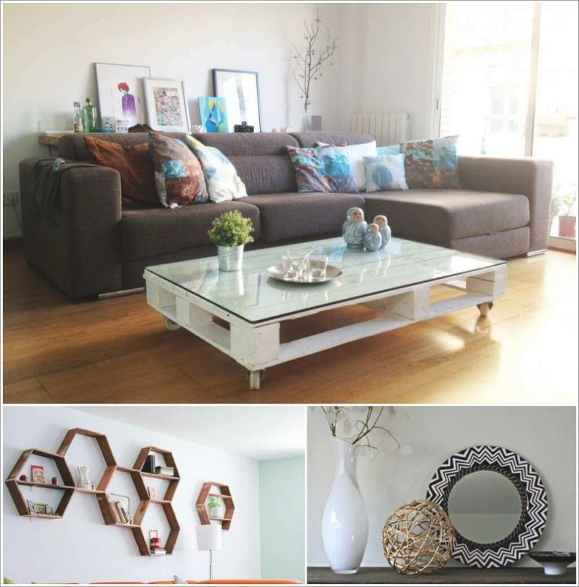 26 Affordable Decor Ideas For Your Living Room within Unique Affordable Living Room Decorating Ideas