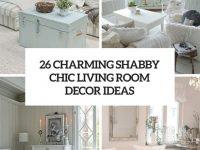 26 Charming Shabby Chic Living Room Décor Ideas – Shelterness within Shabby Chic Living Room Furniture