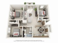 3 Bed 1 Bath Apartment | 4220 Grand | Elevate Living in Three Bedroom Apartment