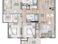 3 Bed / 2 Bath Apartment In Orlando Fl | Harbortown Luxury pertaining to Three Bedroom Apartment