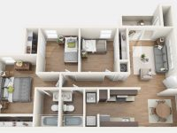 3 Bedroom Apartments In Gainesville Fl – Chelsea Apartments throughout Three Bedroom Apartment