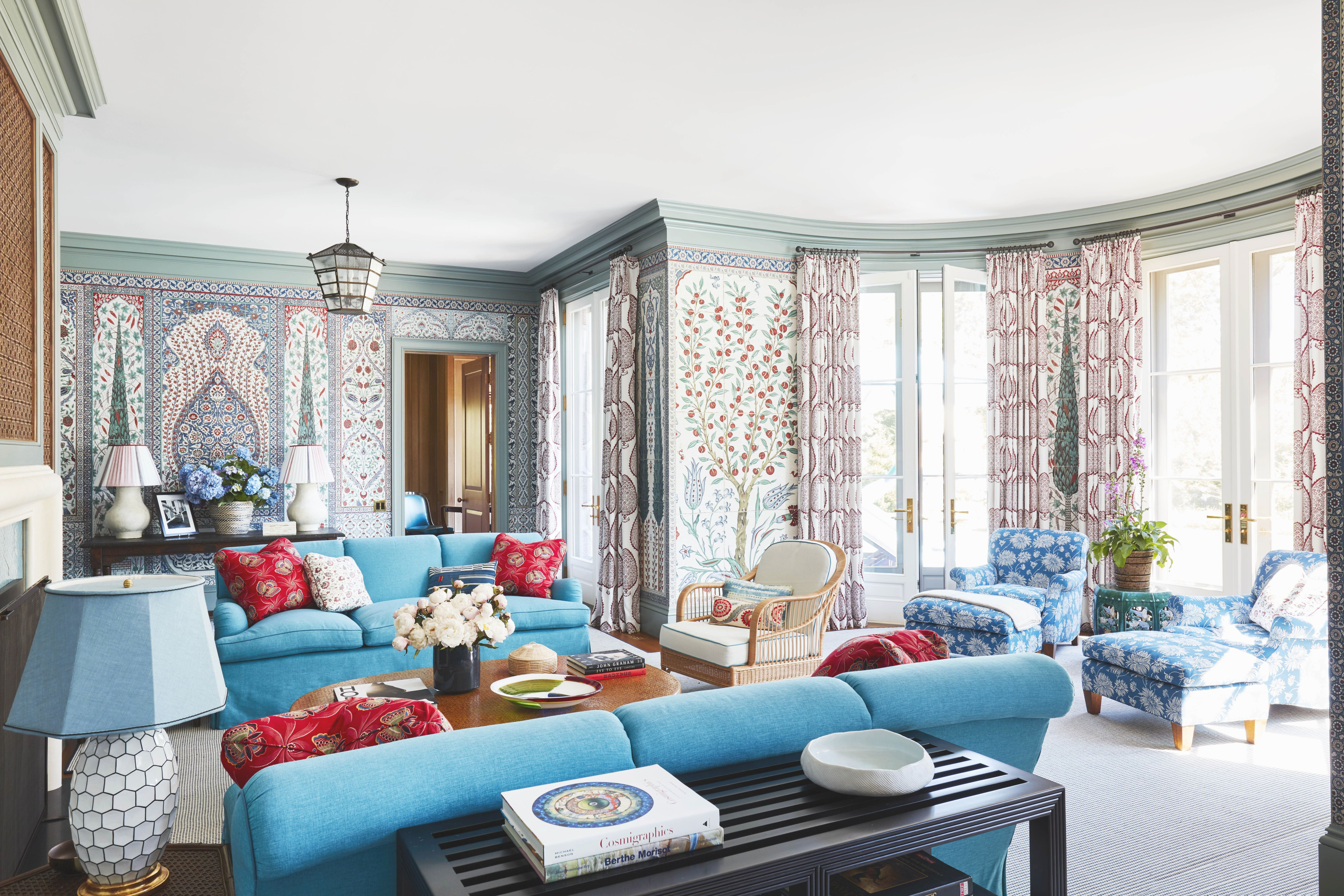 35 Best Living Room Ideas - Luxury Living Room Decor with regard to Turquoise Living Room Furniture